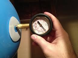exp tank pressure check